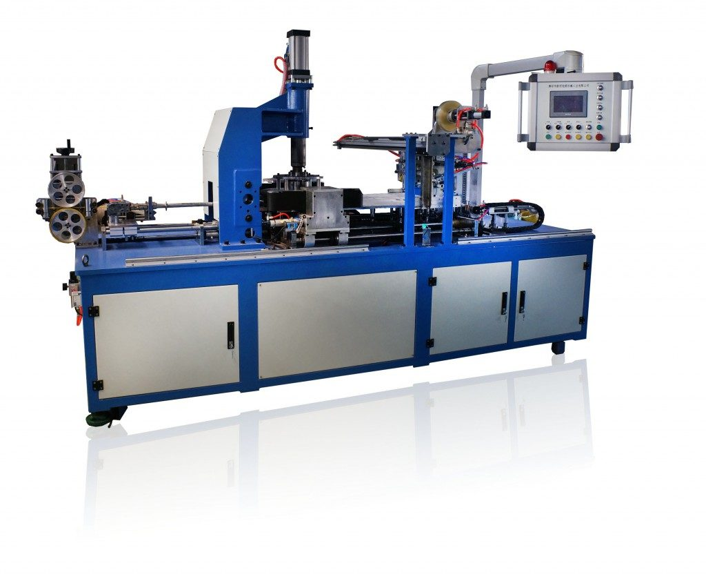 Высокоскоростная автоматическая линия бухтования и упаковки