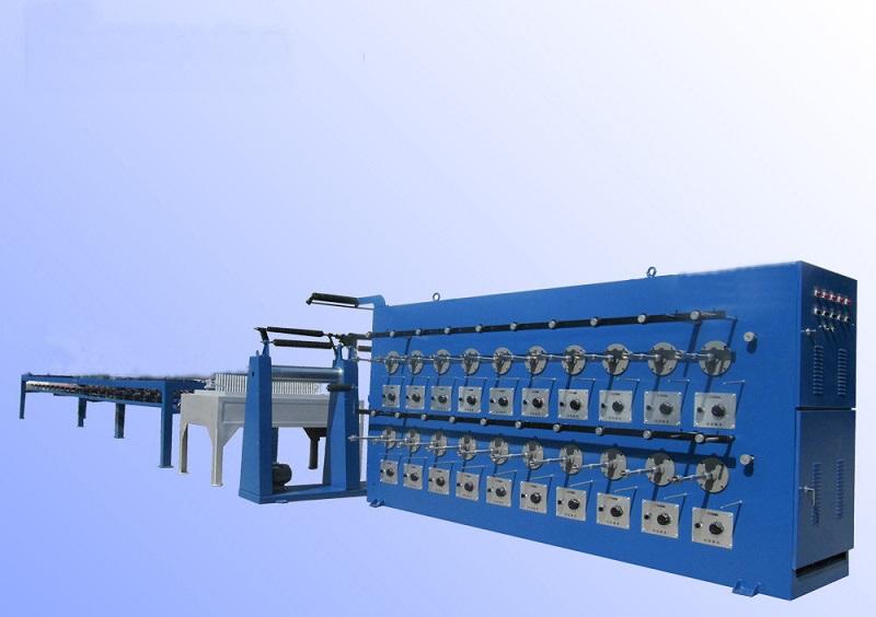 Линия лужения медной проволоки ХМ40